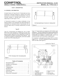 Model-20-Type-BandC-Tensioncell-Manual-D-203