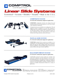 Linear Slide Flyer
